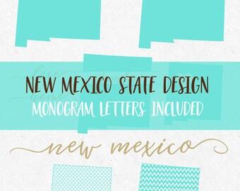 New Mexico Svg Svg Font Svg Monogram Font Cricut svg Silhouette svg designs state outline png dxf svg cutting files svg mermaid pattern