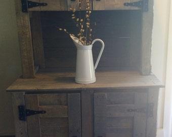 Classic Grey Kitchen Hutch