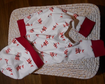 Baby / Toddler Harem Pants and matching Slouchie Beanie
