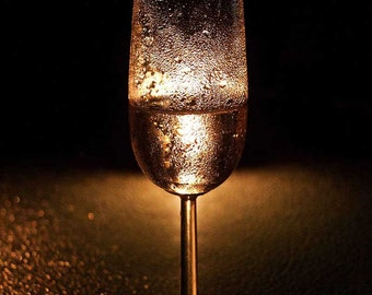 Candle light Bubbles Photograph