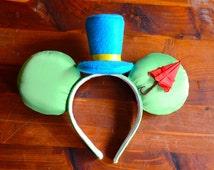 Jiminy Cricket Inspired Ears