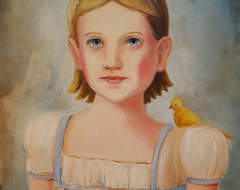 Girl With a Canary