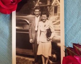 Vintage couple photographs
