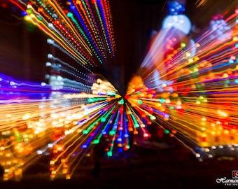 Christmas lights Splash
