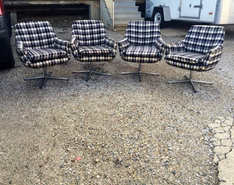 Mid Century Dining Chairs (4)-FREE SHIPPING!