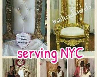 Royal Throne Rental serving  NYC