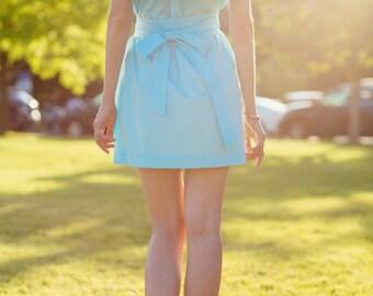 Flounce top dress