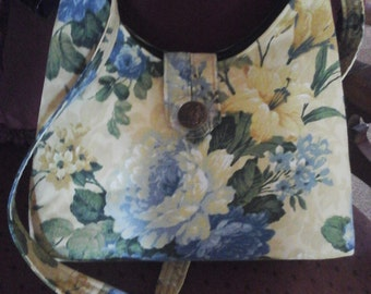A line handbag