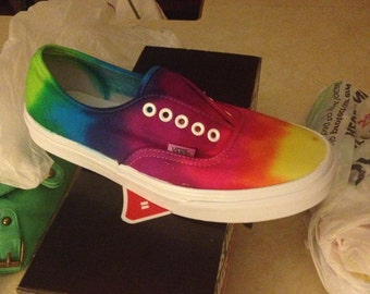 Tie Dye Canvas Sneakers