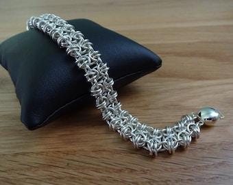 Sterling Silver Bubble Bracelet