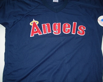 Rawlings California  Anaheim Angels vintage baseball jersey new XL made in USA MLB