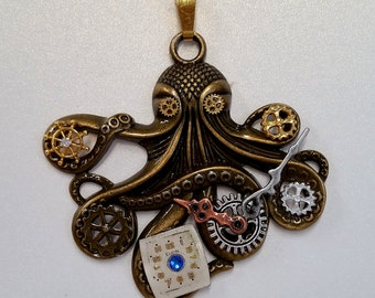 Steampunk Octopus