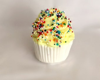 Soap Cupcake with Sprinkles