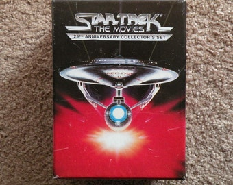 Star Trek The Movies 25th Anniversary Collector's Set VHS