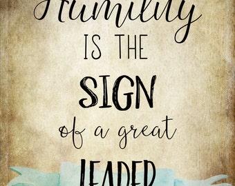Humility 8x10