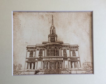 Payson Utah Temple 01