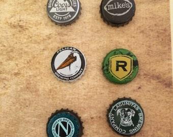 Magnet beer caps