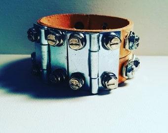 DareByKionde Handcrafted hardware bracelet