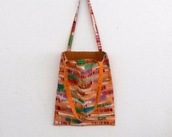 handpainted tote bag 'colorful'