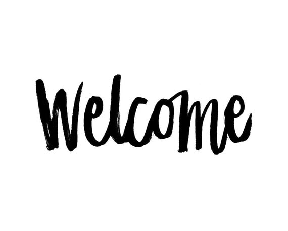 Image result for welcome calligraphy