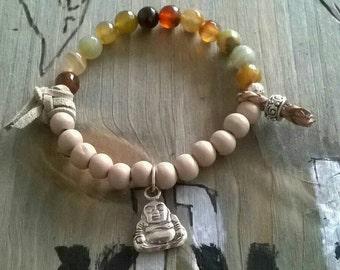Bracelet ⭐ Buddha ⭐ agate