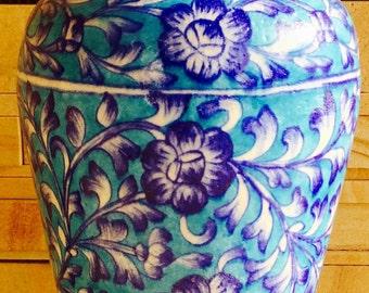 Vase Blue Pottery