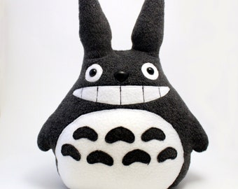 Smiling Totoro Plush Stuffed Animal