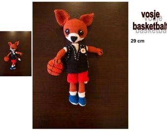 cuddly crochet little Fox,