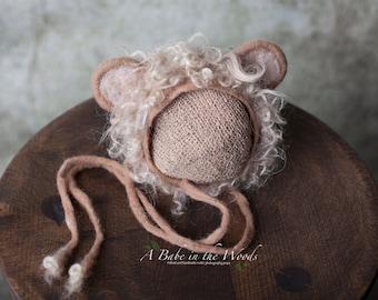 FREE Shipping! Newborn Lion hat
