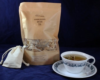 Organic Herbal Anti-Cleaning Solvents Detox Tea ( 12 bags)