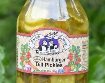 Hamburger Dill -  Amish Wedding - 32 Oz - All Natural