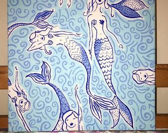 Original Mermaid Painting