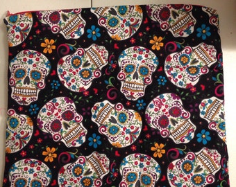 Sugar skull wet bag