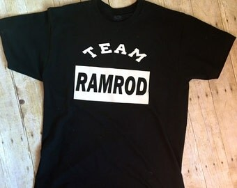 "Funny Super Troopers ""Team RAMROD"" Men's T-Shirt"