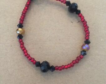 Ruby Toggle Bracelet