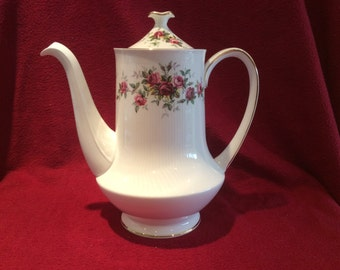 Royal Standard Minuet Bone China Coffee Pot
