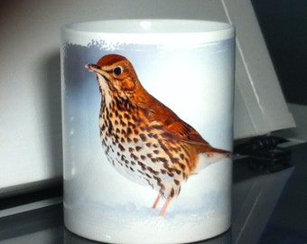 "Personalized mug set ""Birds"""