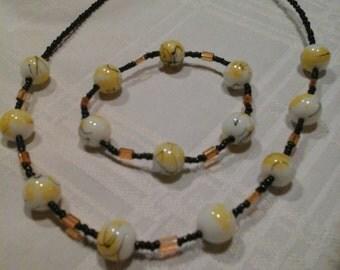 Bracelet and neckalace sets
