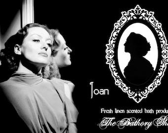 Bubble Bath - Joan Crawford inspired, fresh linen sctented, 8 oz bottle
