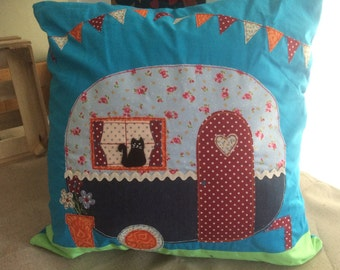 Gypsy Caravan Cushion
