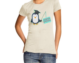 Women's Penguin Congratulations Graduate! T-Shirt