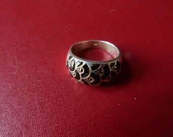 silver hallmarked ring