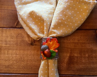 Autumn Napkin Holders // Thanksgiving Decor // Fall Decor // Autumn Decor