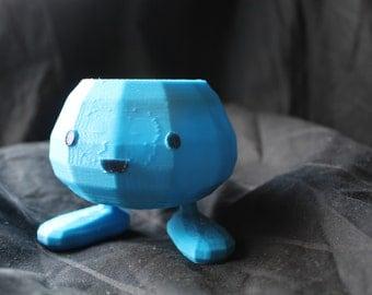 Oddish Planter Pokemon 3D Printed