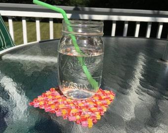 Starburst Wrapper Coasters (set of 4)