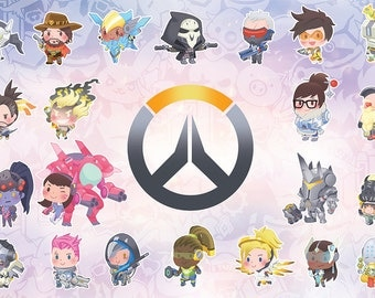 Little Overwatch Poster