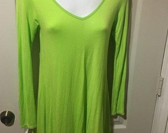 Long Sleeve Green Romper