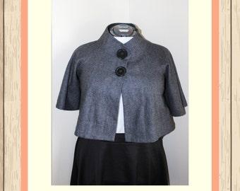 Lined Crop Jacket