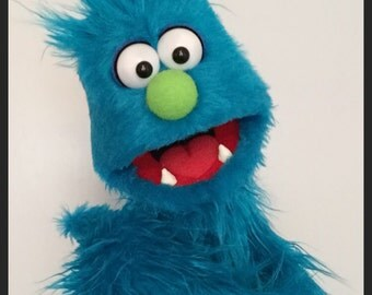Custom made professional monster puppet