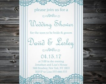 Bridal Shower, Wedding Shower,Bridal Shower Digital,Vintage Bridal Shower Invitation,Wedding Printable, Bridal Shower Invites